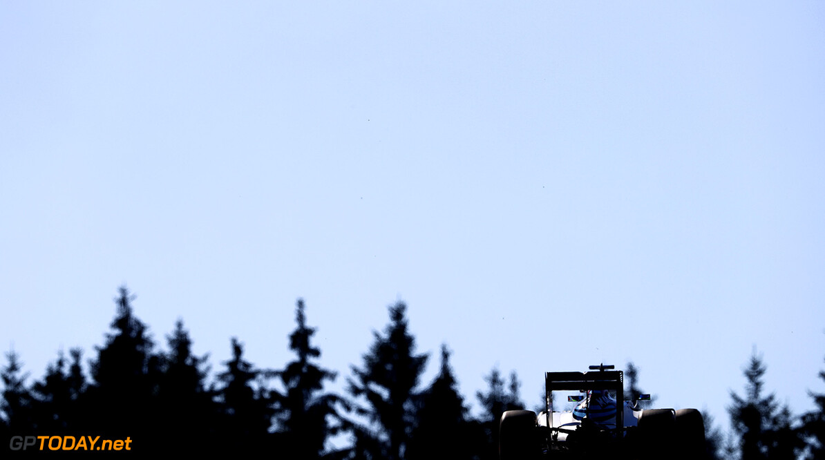 Spa-Francorchamps, Spa, Belgium.. Friday 26 August 2016. Felipe Massa, Williams FW38 Mercedes. Photo: Glenn Dunbar/Williams ref: Digital Image _31I9570  Glenn Dunbar    Action