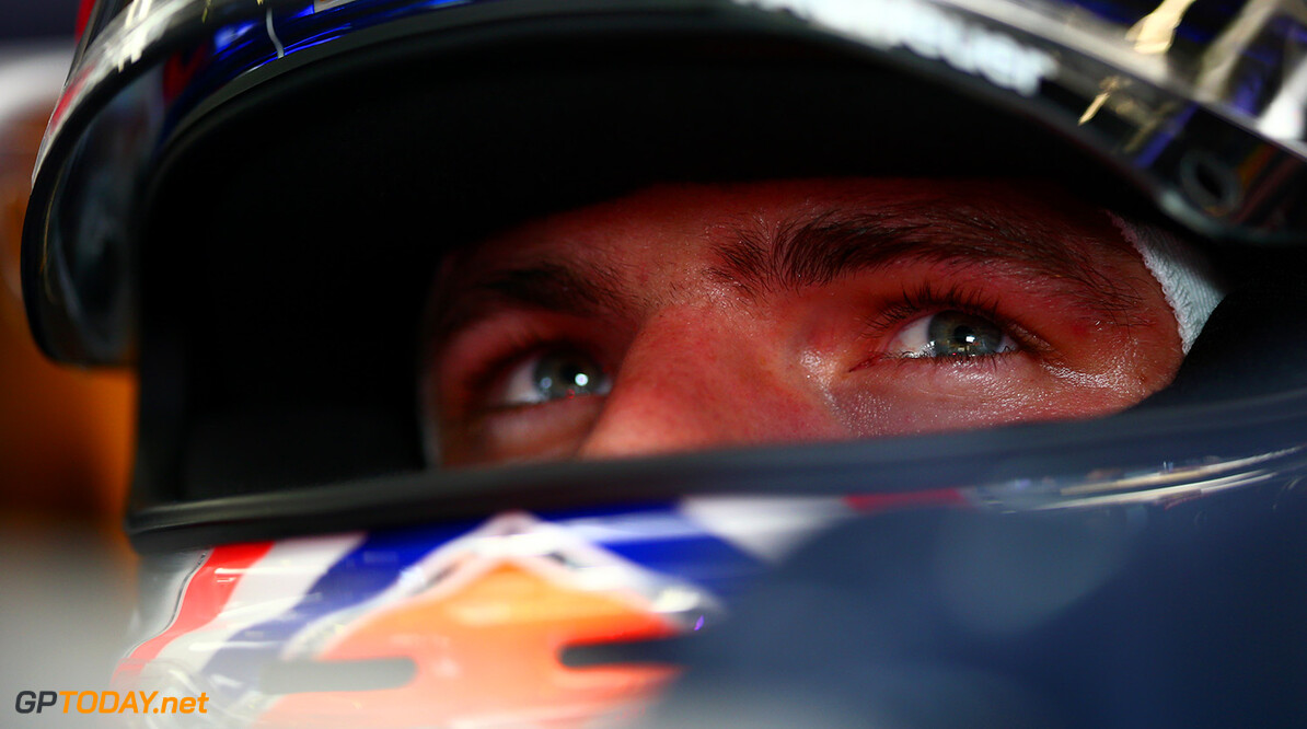 SPA, BELGIUM - AUGUST 26:  Max Verstappen of Netherlands and Red Bull Racing sits in his car in the garage during practice for the Formula One Grand Prix of Belgium at Circuit de Spa-Francorchamps on August 26, 2016 in Spa, Belgium.  (Photo by Dan Istitene/Getty Images) // Getty Images / Red Bull Content Pool  // P-20160826-01140 // Usage for editorial use only // Please go to www.redbullcontentpool.com for further information. //  F1 Grand Prix of Belgium - Practice Dan Istitene Spa Belgium  P-20160826-01140