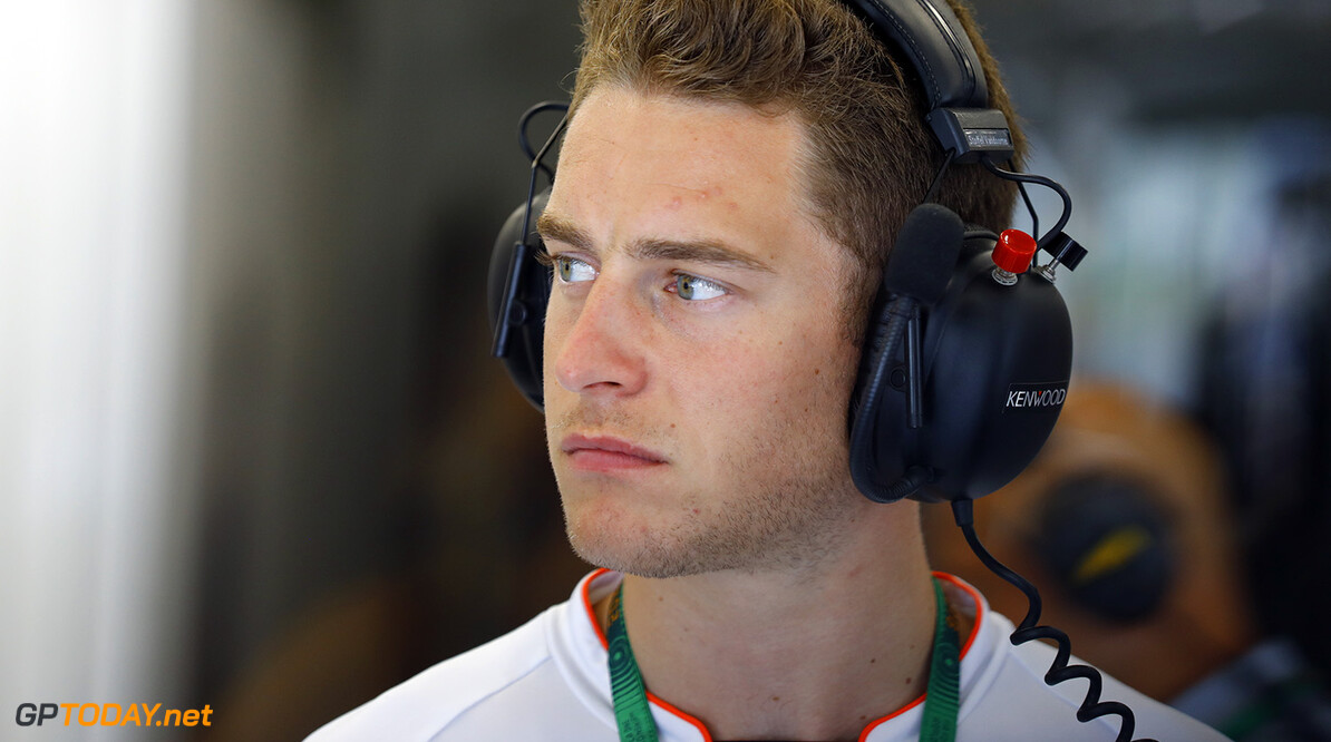 Stoffel Vandoorne, Test and Reserve Driver, in the garage.  Steven Tee