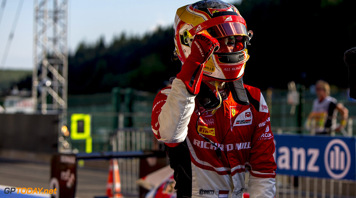 Charles Leclerc to start race one on pole