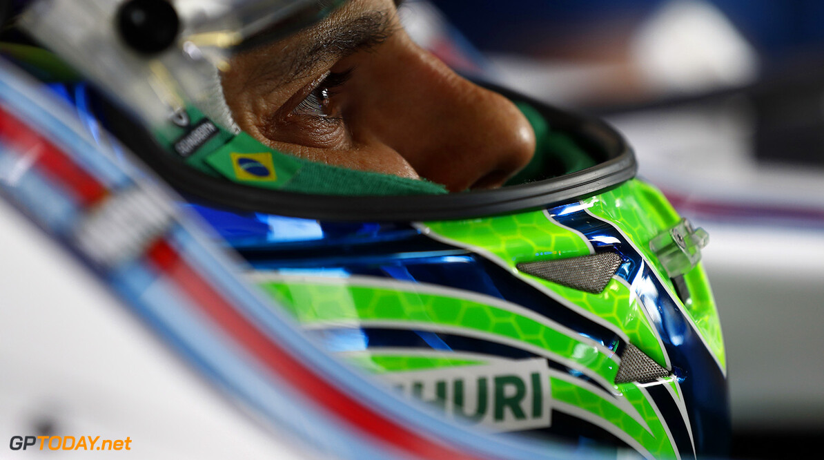 Autodromo Nazionale di Monza, Italy. Friday 2 September 2016. Felipe Massa, Williams Martini Racing. Photo: Glenn Dunbar/Williams ref: Digital Image W31I6860A  Glenn Dunbar    Portrait Helmets