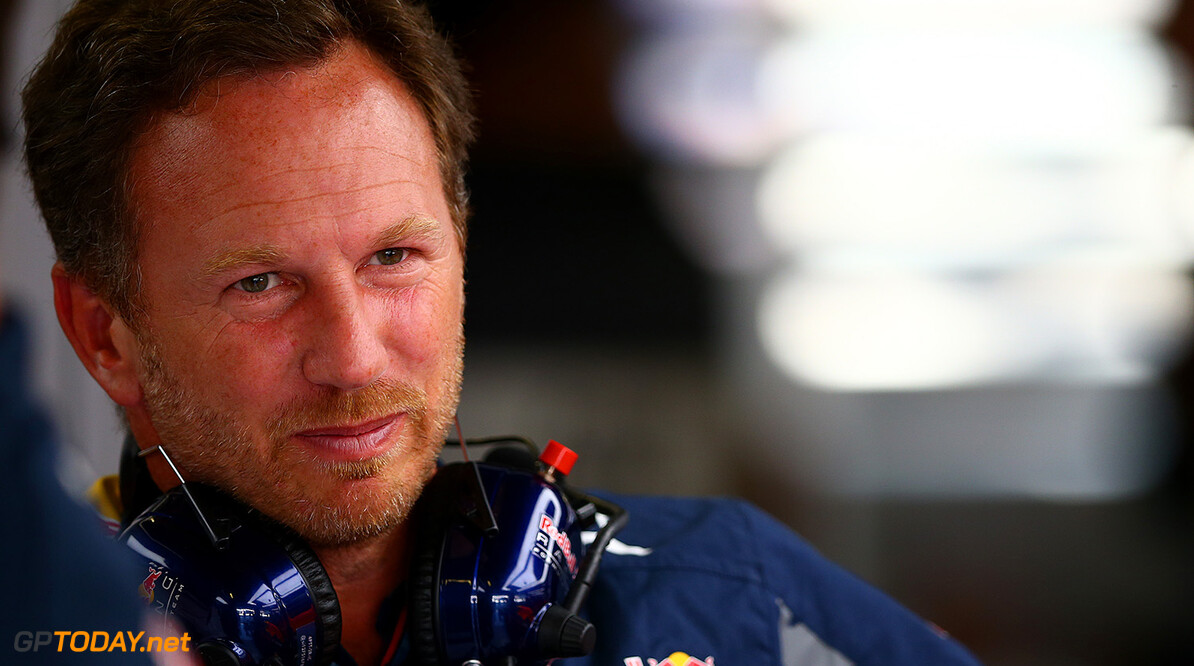 MONZA, ITALY - SEPTEMBER 02:  Red Bull Racing Team Principal Christian Horner looks on in the garage during practice for the Formula One Grand Prix of Italy at Autodromo di Monza on September 2, 2016 in Monza, Italy.  (Photo by Dan Istitene/Getty Images) // Getty Images / Red Bull Content Pool  // P-20160902-13438 // Usage for editorial use only // Please go to www.redbullcontentpool.com for further information. //  F1 Grand Prix of Italy - Practice Dan Istitene Monza Italy  P-20160902-13438