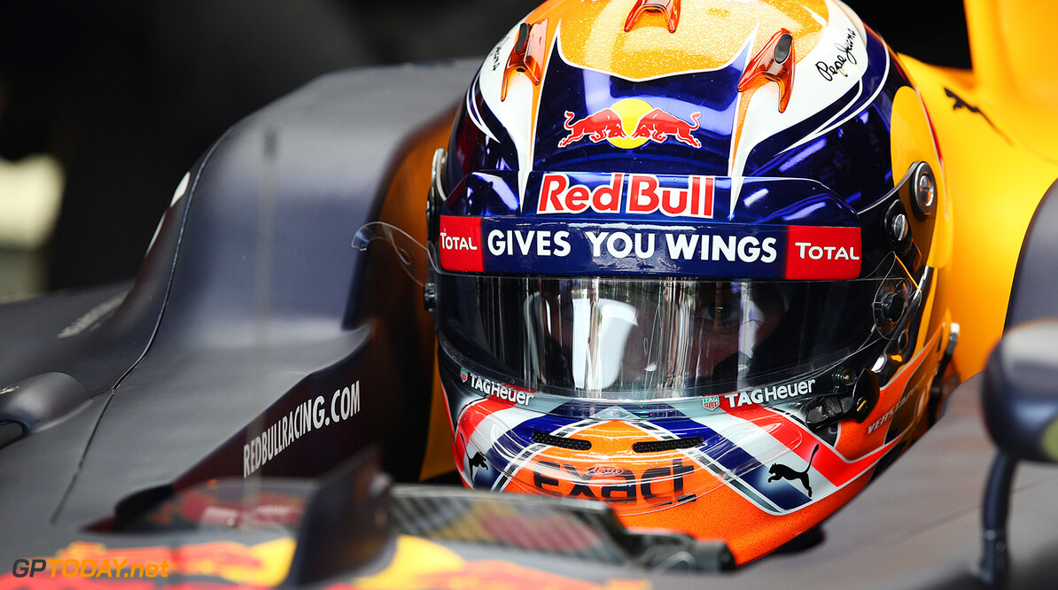 MONZA, ITALY - SEPTEMBER 02:  Max Verstappen of Netherlands and Red Bull Racing sits in his car in the garage during practice for the Formula One Grand Prix of Italy at Autodromo di Monza on September 2, 2016 in Monza, Italy.  (Photo by Charles Coates/Getty Images) // Getty Images / Red Bull Content Pool  // P-20160902-13164 // Usage for editorial use only // Please go to www.redbullcontentpool.com for further information. //  F1 Grand Prix of Italy - Practice Charles Coates Monza Italy  P-20160902-13164