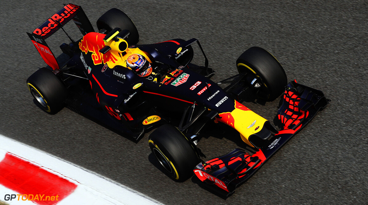 MONZA, ITALY - SEPTEMBER 02: Max Verstappen of the Netherlands driving the (33) Red Bull Racing Red Bull-TAG Heuer RB12 TAG Heuer on track during practice for the Formula One Grand Prix of Italy at Autodromo di Monza on September 2, 2016 in Monza, Italy.  (Photo by Mark Thompson/Getty Images) // Getty Images / Red Bull Content Pool  // P-20160902-12847 // Usage for editorial use only // Please go to www.redbullcontentpool.com for further information. //  F1 Grand Prix of Italy - Practice Mark Thompson Monza Italy  P-20160902-12847