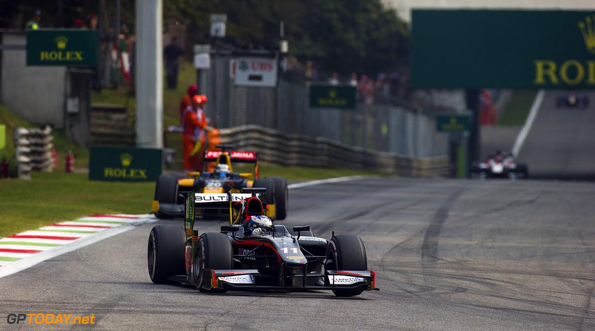 2016 GP2 Series Round 9 Autodromo di Monza, Italy. Sunday 4 September 2016. Gustav Malja (SWE, Rapax)  Photo: Sam Bloxham/GP2 Series Media Service. ref: Digital Image _SLA7664  Sam Bloxham    Race Two action