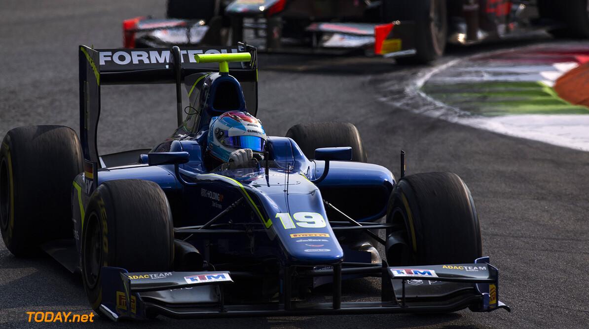 2016 GP2 Series Round 9 Autodromo di Monza, Italy. Saturday 3 September 2016. Marvin Kirchhofer (GER, Carlin)  Photo: Sam Bloxham/GP2 Series Media Service. ref: Digital Image _SBB8307  Sam Bloxham    Race One Feature action