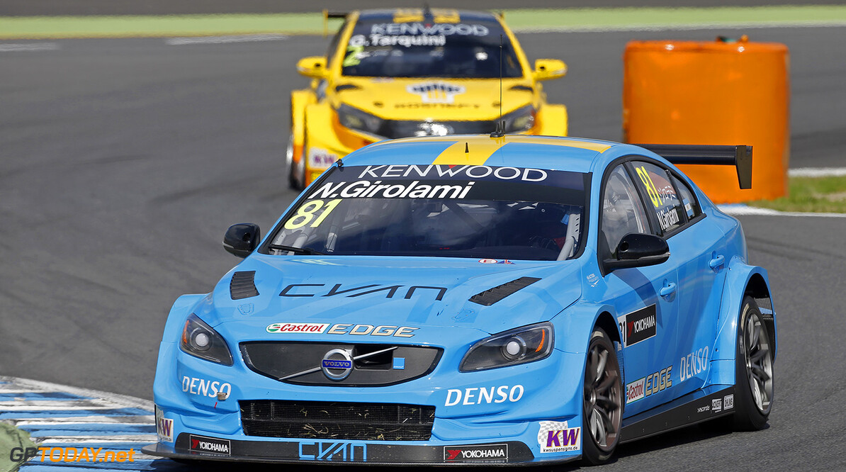 81 GIROLAMI Nestor (arg) Volvo S60 team Polestar Cyan racing action during the 2016 FIA WTCC World Touring Car Championship race at Motegi from September 2 to 4  Japan - Photo Francois Flamand / DPPI AUTO - WTCC MOTEGI  2016 Francois Flamand    auto championnat du monde circuit course fia japon motorsport september septembre tourisme wtcc