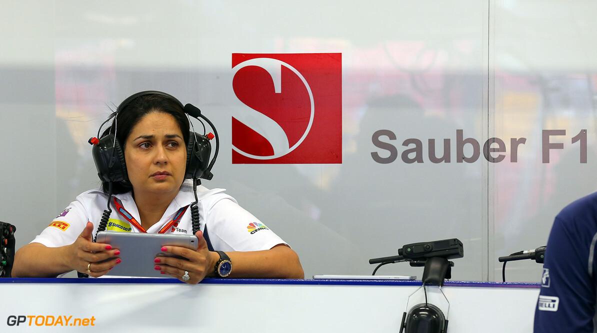 Singapore GP Friday 16/09/16 Monisha Kaltenborn (AUT), Sauber F1 Team CEO and Team Principal.  Marina Bay street Circuit.  Singapore GP Friday 16/09/16 Jad Sherif                       Singapore Singapore  F1 Formula 1 One 2016 Portraits Kaltenborn Sauber