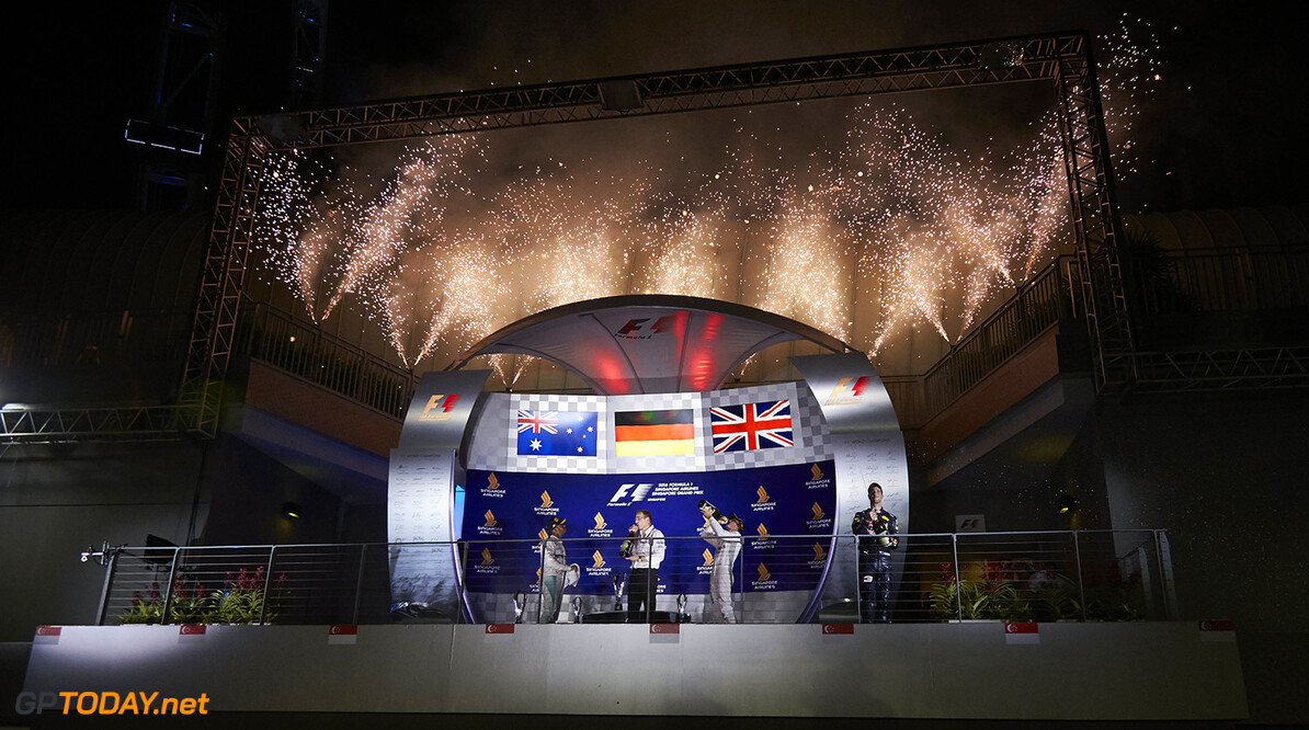 Archivnummer: M41522 Grosser Preis von Singapur 2016, Sonntaggg 2016 Singapore Grand Prix, Sundayyy Steve Etherington Marina Bay Singapore  Sonntag Singapur Grand Prix 2016 Marina Bay Street Circuit