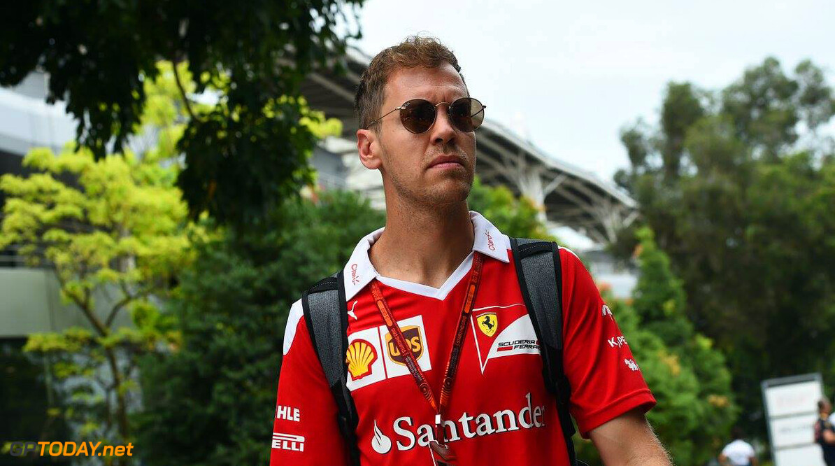 Sebastian Vettel not willing to discuss contract negotiations