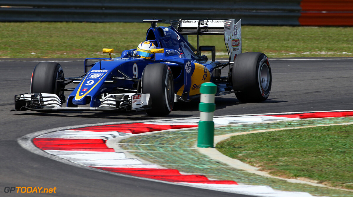 Malaysian GP Friday 30/09/16 Marcus Ericsson (SWE), Sauber F1 Team.  Sepang International Circuit.  Malaysian GP Friday 30/09/16 Jad Sherif                       Sepang Malaysia  F1 Formula 1 One 2016 Action Ericsson Sauber