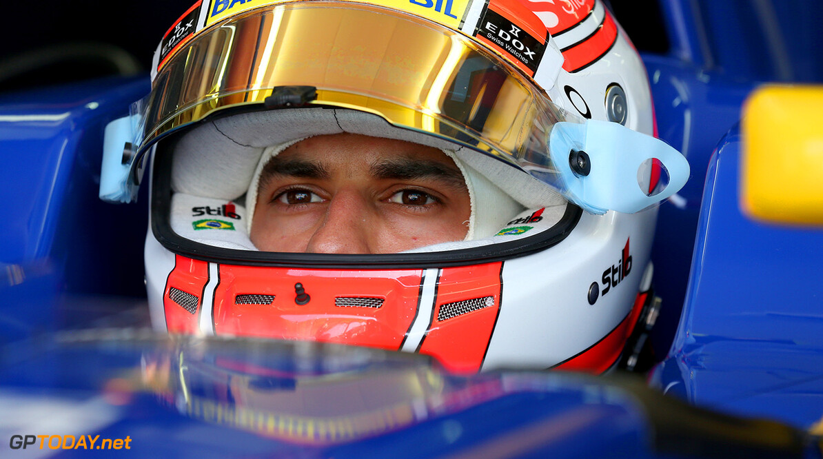 Malaysian GP Friday 30/09/16 Felipe Nasr (BRA), Sauber F1 Team.  Sepang International Circuit.  Malaysian GP Friday 30/09/16 Jad Sherif                       Sepang Malaysia  F1 Formula 1 One 2016 Pits Nasr Sauber