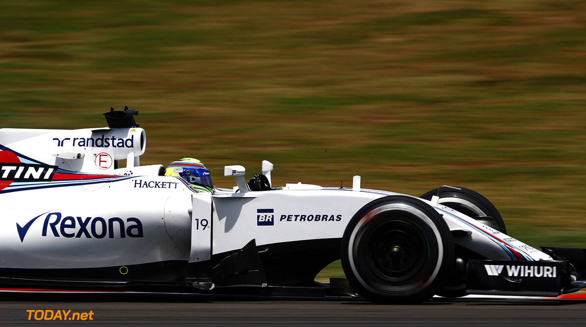 Sepang International Circuit, Sepang, Malaysia. Friday 30 September 2016. Felipe Massa, Williams FW38 Mercedes. Photo: Glenn Dunbar/Williams ref: Digital Image _X4I7967  Glenn Dunbar    Action