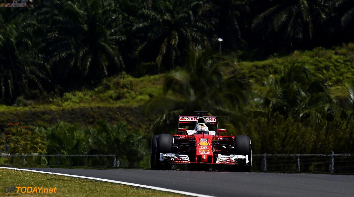 Ferrari heeft moeite in warme omstandigheden