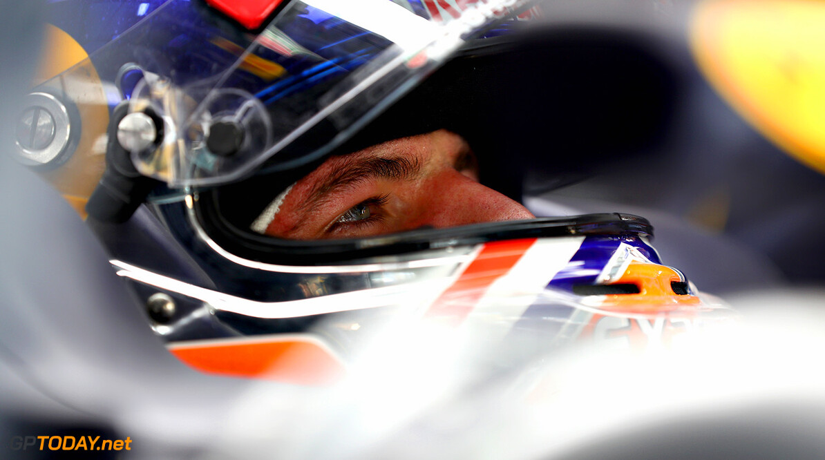 KUALA LUMPUR, MALAYSIA - SEPTEMBER 30:  Max Verstappen of Netherlands and Red Bull Racing sits in his car in the garage during practice for the Malaysia Formula One Grand Prix at Sepang Circuit on September 30, 2016 in Kuala Lumpur, Malaysia.  (Photo by Clive Mason/Getty Images) // Getty Images / Red Bull Content Pool  // P-20160930-00390 // Usage for editorial use only // Please go to www.redbullcontentpool.com for further information. //  F1 Grand Prix of Malaysia - Practice Clive Mason Kuala Lumpur Malaysia  P-20160930-00390