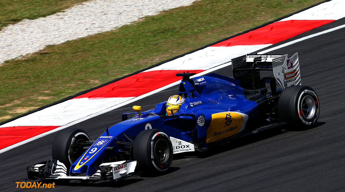 Malaysian GP Friday 30/09/16 Marcus Ericsson (SWE), Sauber F1 Team. Sepang International Circuit.  Malaysian GP Friday 30/09/16 Jean-Francois Galeron Sepang Malaysia  F1 Formula One 2016 Action Ericsson Sauber
