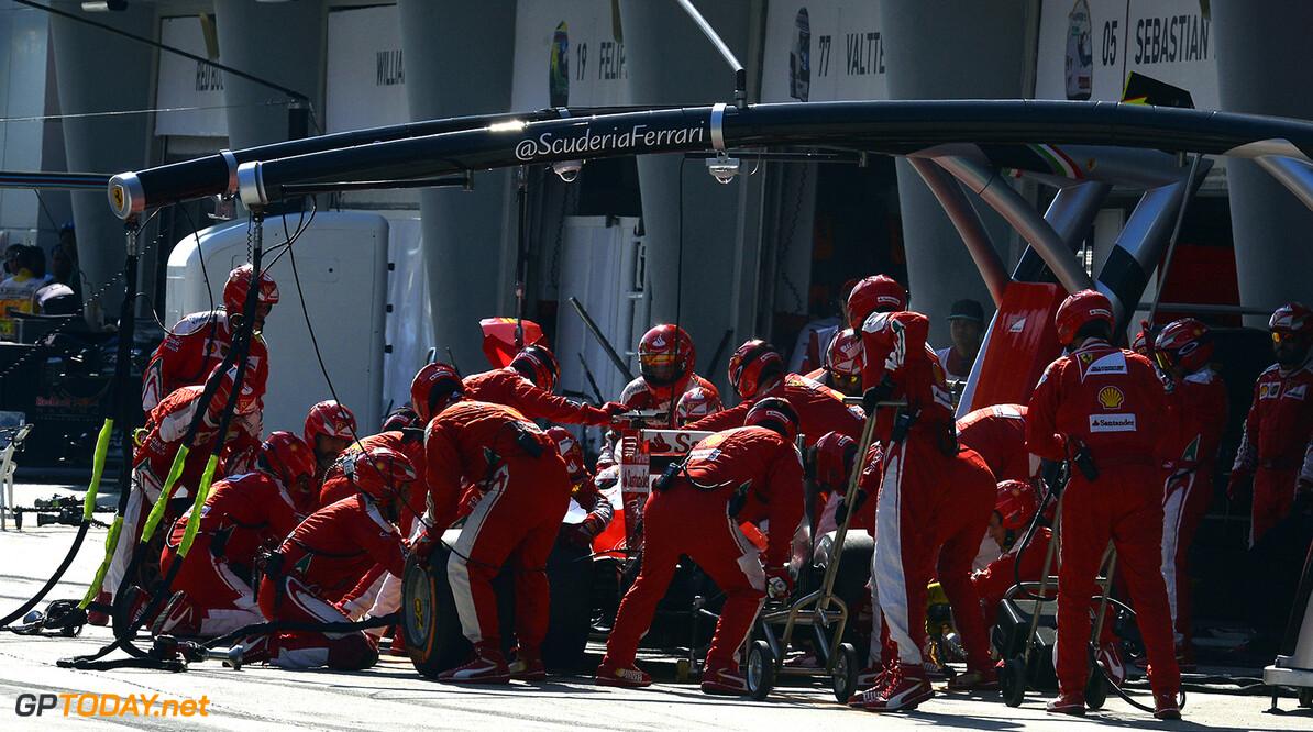 'Ferrari een verzameling van angstige mensen'