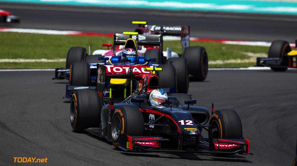 2016 GP2 Series Round 10 Sepang, Kuala Lumpur, Malaysia Sunday 2 October 2016. Johnny Cecotto Jr. (VEN, Rapax)  Photo: Sam Bloxham/GP2 Series Media Service. ref: Digital Image _SBB6096  Sam Bloxham    Race Two action