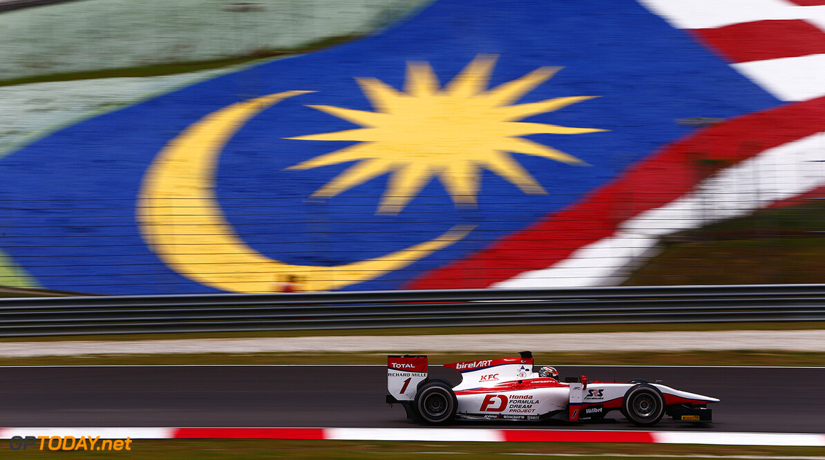 2016 GP2 Series Round 10. Sepang International Circuit, Sepang, Kuala Lumpur, Malaysia. Saturday 1 October 2016. Nobuharu Matsushita (JPN, ART Grand Prix)  Photo: Zak Mauger/GP2 Series Media Service. ref: Digital Image _L0U8918   Zak Mauger    Race One 1 Feature action