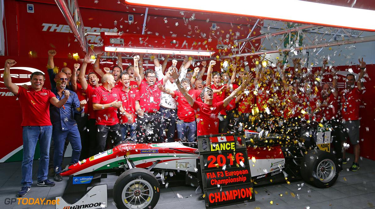 FIA Formula 3 European Championship, round 9, Imola (ITA) 1 Lance Stroll (CAN, Prema Powerteam, Dallara F312 - Mercedes-Benz), FIA Formula 3 European Championship, round 9, Imola (ITA), 30. September - 2. October 2016 FIA Formula 3 European Championship 2016, round 9, Imola (ITA) Thomas Suer Imola Italy