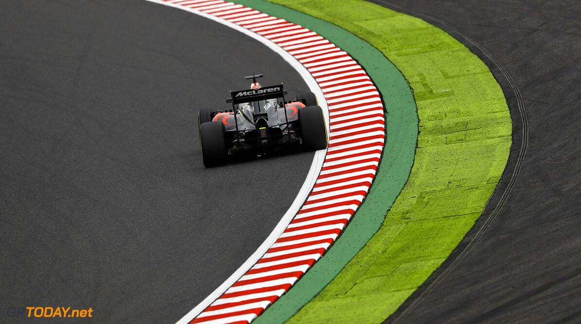 Fernando Alonso on track.  Steven Tee