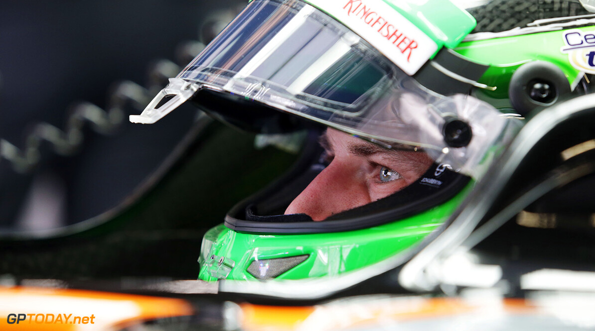 Formula One World Championship Nico Hulkenberg (GER) Sahara Force India F1 VJM09. Japanese Grand Prix, Friday 7th October 2016. Suzuka, Japan. Motor Racing - Formula One World Championship - Japanese Grand Prix - Practice Day - Suzuka, Japan James Moy Photography Suzuka Japan  Formula One Formula 1 F1 GP Grand Prix Circuit Japan Japanese Suzuka JM635 Hulkenberg H?lkenberg Huelkenberg Portrait GP1617b