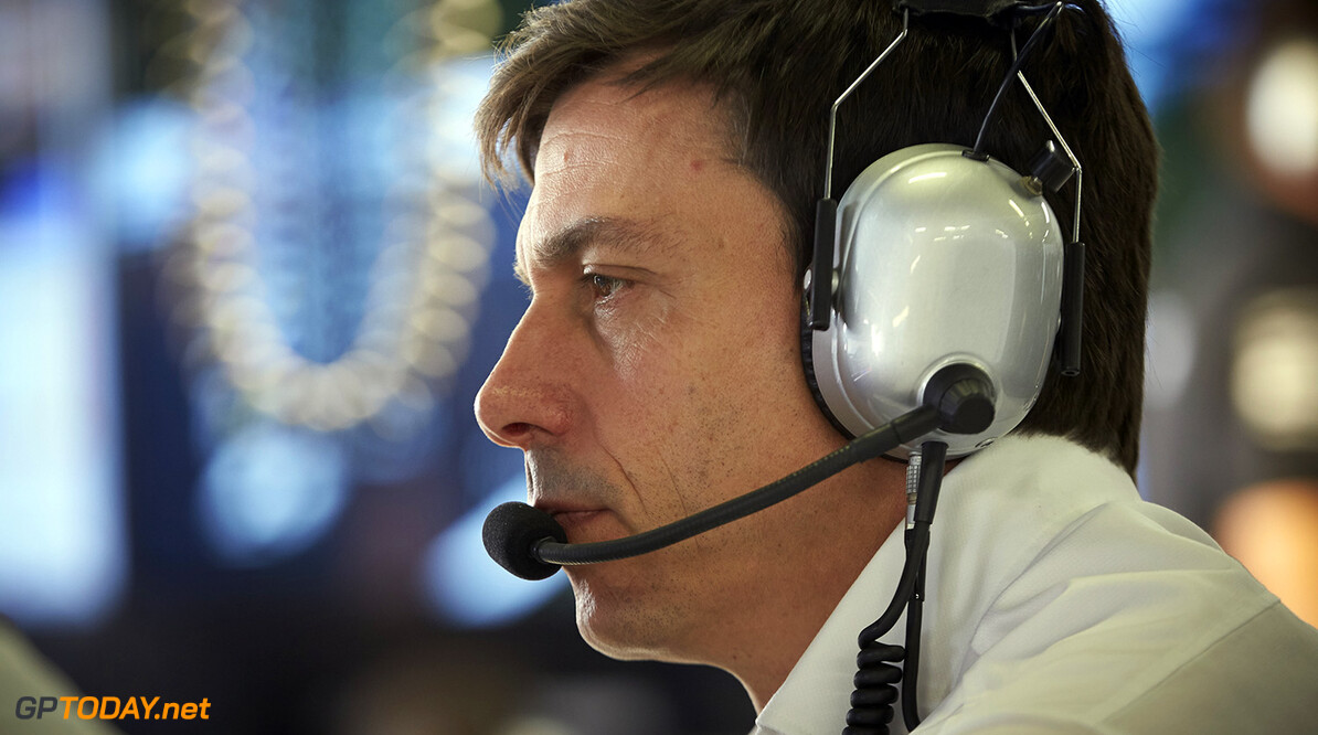 Toto Wolff not impressed by testing row