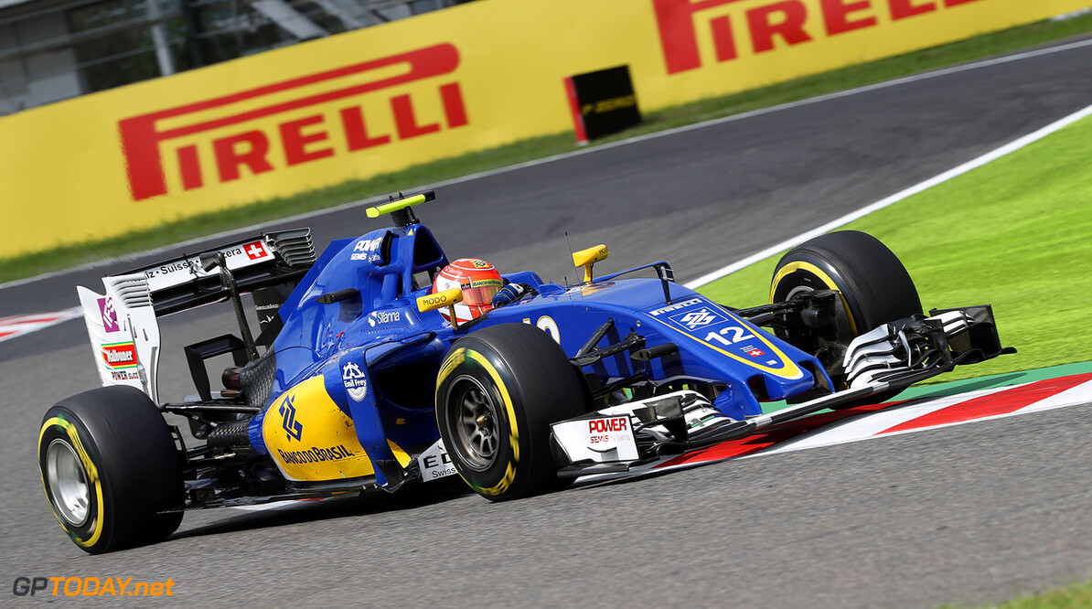 Japanese GP Friday 07/10/16 Felipe Nasr (BRA) Sauber F1 Team.  Suzuka Circuit.  Japanese GP Friday 07/10/16 Jad Sherif                       Suzuka Japan  F1 Formula 1 One 2016 action Nasr Sauber