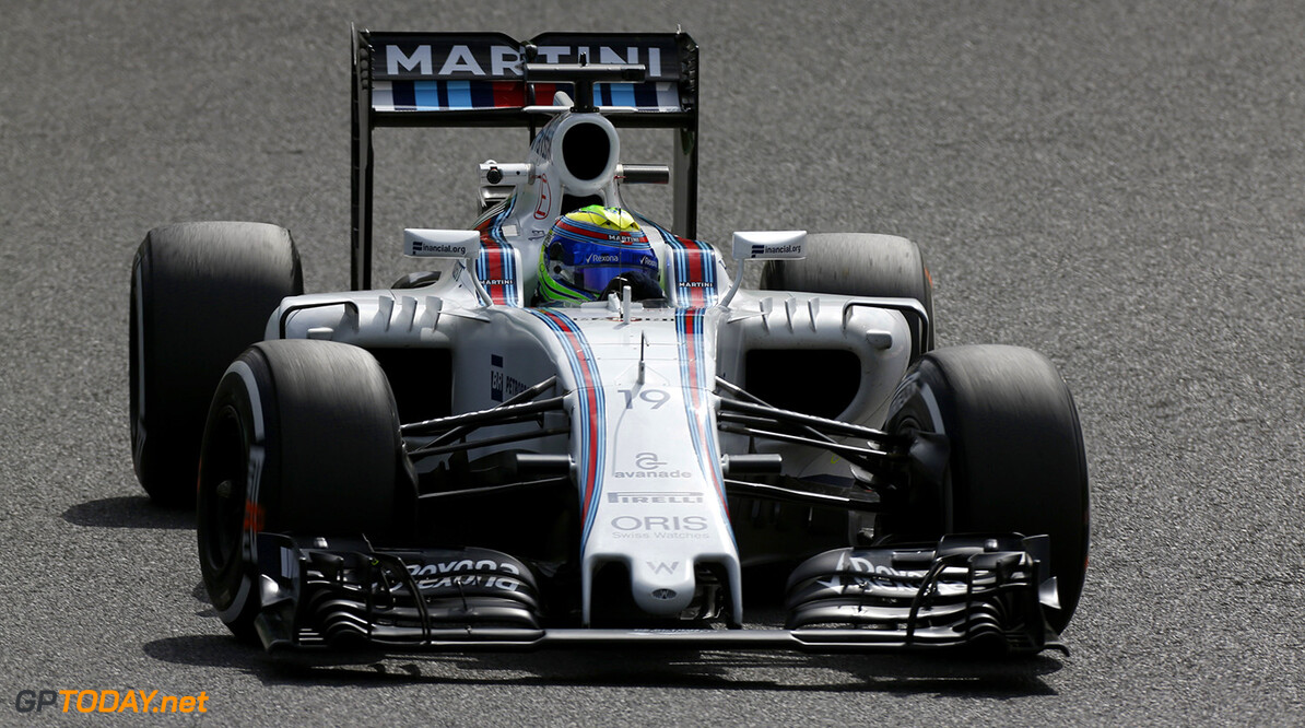 Sepang International Circuit, Sepang, Malaysia. Friday 7 October 2016. Felipe Massa, Williams FW38 Mercedes. Photo: Sam BloxhamWilliams ref: Digital Image _SBB7610  Al Staley    Action
