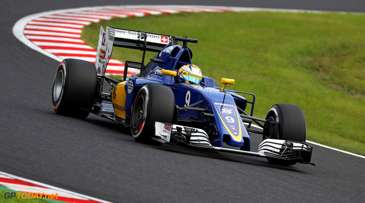 Japanese GP Friday 07/10/16 Marcus Ericsson (SWE) Sauber F1 Team.  Suzuka Circuit.  Japanese GP Friday 07/10/16 Jad Sherif                       Suzuka Japan  F1 Formula 1 One 2016 action Ericsson Sauber