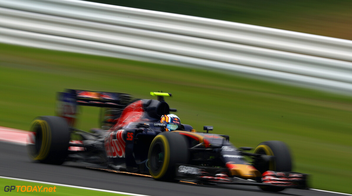 SUZUKA, JAPAN - OCTOBER 08: Carlos Sainz of Spain driving the (55) Scuderia Toro Rosso STR11 Ferrari 060/5 turbo on track during final practice for the Formula One Grand Prix of Japan at Suzuka Circuit on October 8, 2016 in Suzuka.  (Photo by Clive Mason/Getty Images) // Getty Images / Red Bull Content Pool  // P-20161008-00526 // Usage for editorial use only // Please go to www.redbullcontentpool.com for further information. //  F1 Grand Prix of Japan - Qualifying Clive Mason Suzuka Japan  P-20161008-00526
