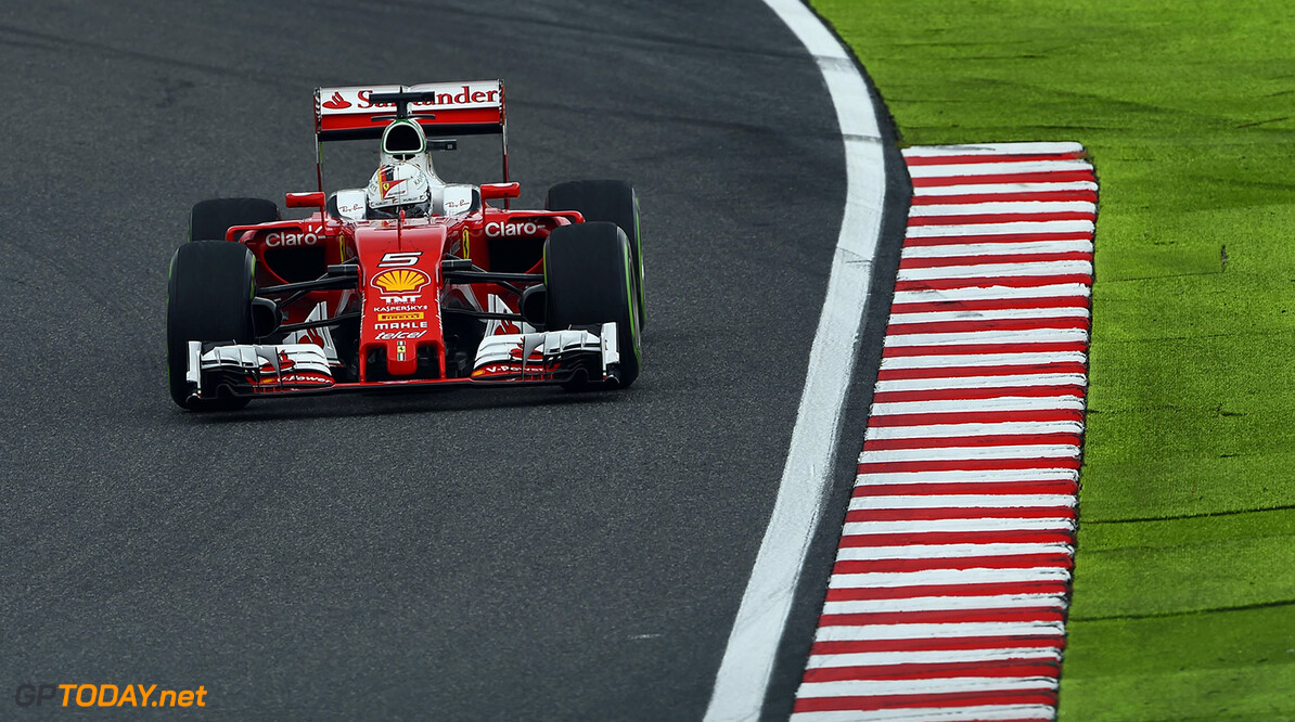 Sebastian Vettel narrowly tops second practice in Mexico