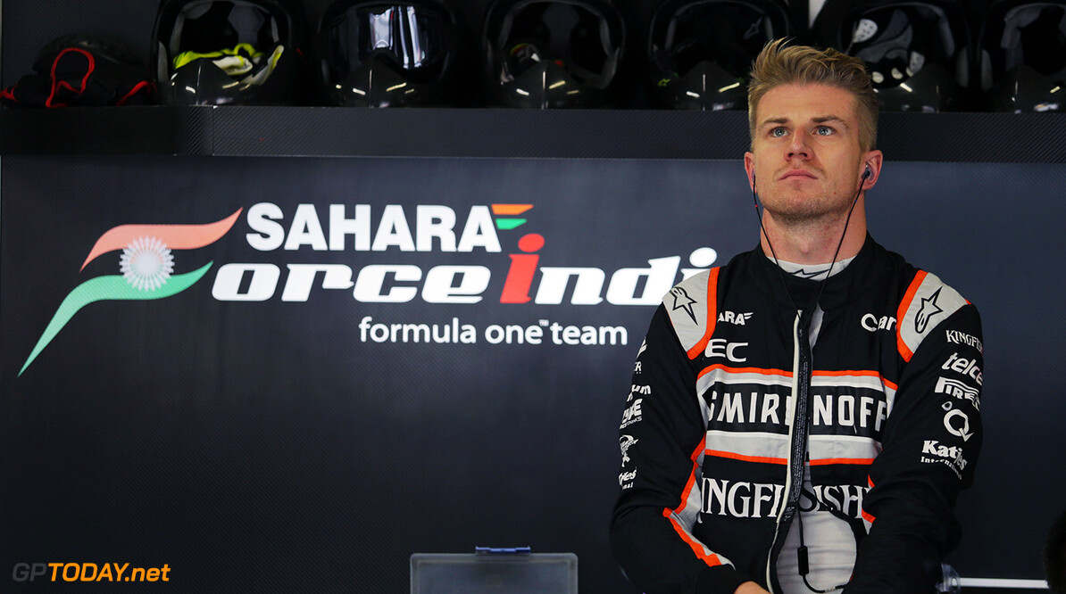 Formula One World Championship Nico Hulkenberg (GER) Sahara Force India F1. Japanese Grand Prix, Sunday 9th October 2016. Suzuka, Japan. Motor Racing - Formula One World Championship - Japanese Grand Prix - Race Day - Suzuka, Japan James Moy Photography Suzuka Japan  Formula One Formula 1 F1 GP Grand Prix Circuit Japan Japanese Suzuka JM637 Hulkenberg H?lkenberg Huelkenberg Portrait GP1617d
