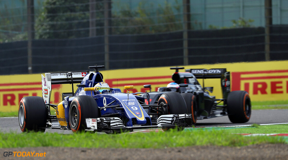 Japanese GP Sunday 09/10/16 Marcus Ericsson (SWE) Sauber F1 Team.  Suzuka Circuit.  Japanese GP Sunday 09/10/16 Jad Sherif                       Suzuka Japan  F1 Formula 1 One 2016 action Ericsson Sauber