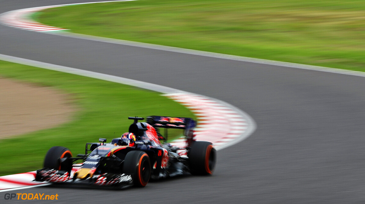 SUZUKA, JAPAN - OCTOBER 09: Daniil Kvyat of Russia driving the (26) Scuderia Toro Rosso STR11 Ferrari 060/5 turbo on track during the Formula One Grand Prix of Japan at Suzuka Circuit on October 9, 2016 in Suzuka.  (Photo by Mark Thompson/Getty Images) // Getty Images / Red Bull Content Pool  // P-20161010-00142 // Usage for editorial use only // Please go to www.redbullcontentpool.com for further information. //  F1 Grand Prix of Japan Mark Thompson Suzuka Japan  P-20161010-00142