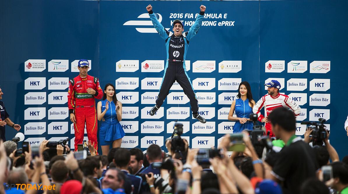 Buemi wint ePrix Marrakech ondanks gridstraf, Frijns elfde