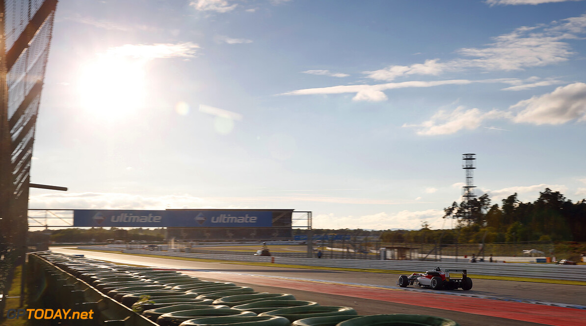 FIA Formula 3 European Championship, round 10, race 2, Hockenhei 1 Lance Stroll (CAN, Prema Powerteam, Dallara F312 - Mercedes-Benz), FIA Formula 3 European Championship, round 10, race 2, Hockenheimring (DEU), 14. - 16. October 2016 FIA Formula 3 European Championship 2016, round 10, race 2, Hockenheimring (DEU) Thomas Suer Hockenheim Germany