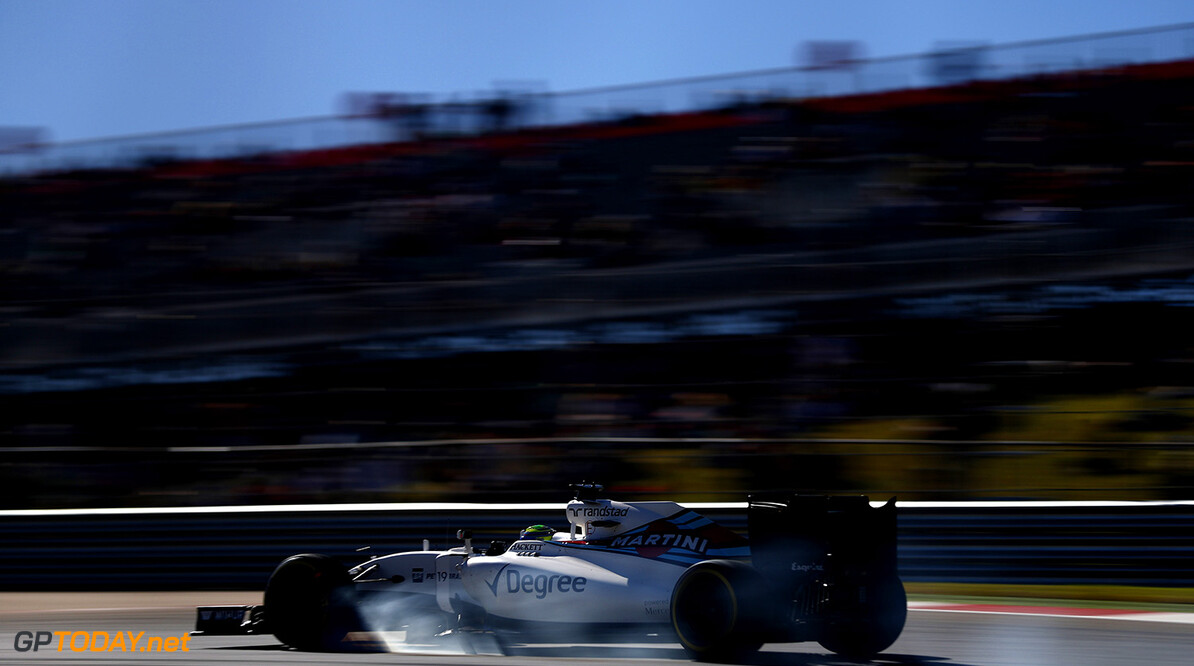 Circuit of the Americas, Austin Texas, USA. Friday 21 October 2016. Felipe Massa, Williams FW38 Mercedes. Photo: Glenn Dunbar/Williams ref: Digital Image _31I0838  Glenn Dunbar    Action