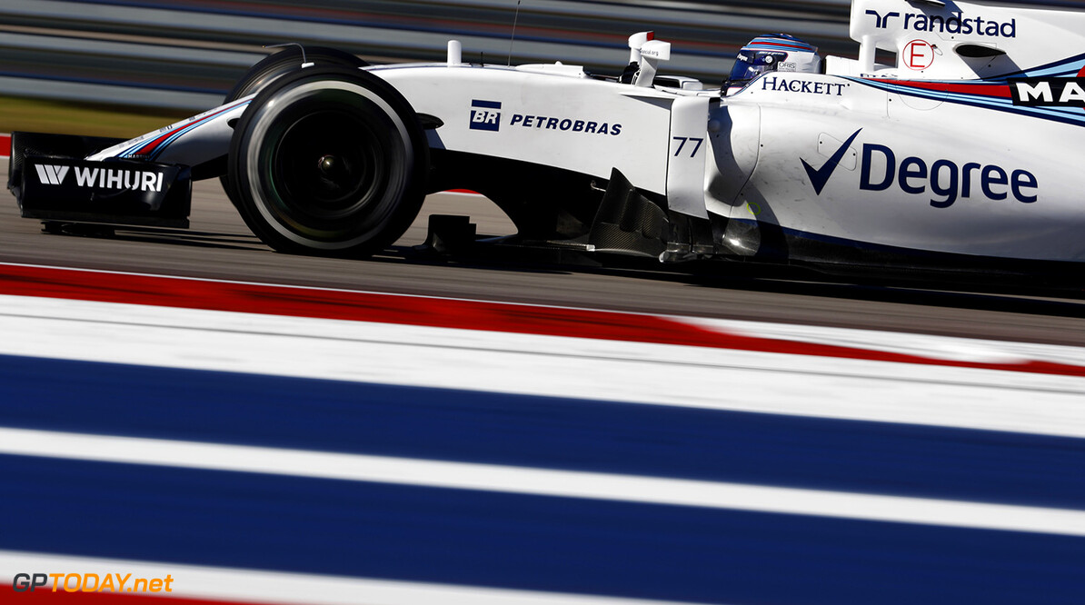 Circuit of the Americas, Austin Texas, USA. Friday 21 October 2016. Valtteri Bottas, Williams FW38 Mercedes. Photo: Glenn Dunbar/Williams ref: Digital Image _X4I1945  Glenn Dunbar    Action