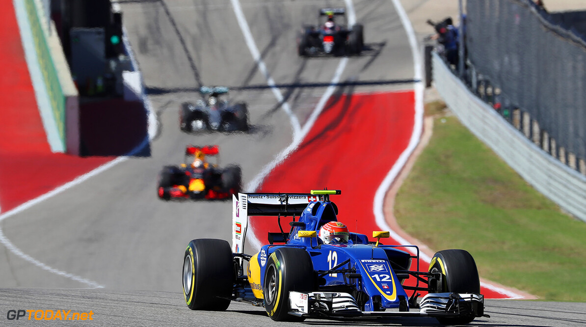 United States GP Friday 21/10/16 Felipe Nasr (BRA) Sauber F1 Team.  Circuit of the Americas.  United States GP Friday 21/10/16 Jad Sherif                       Austin USA  F1 Formula 1 One 2016 American action Nasr Sauber
