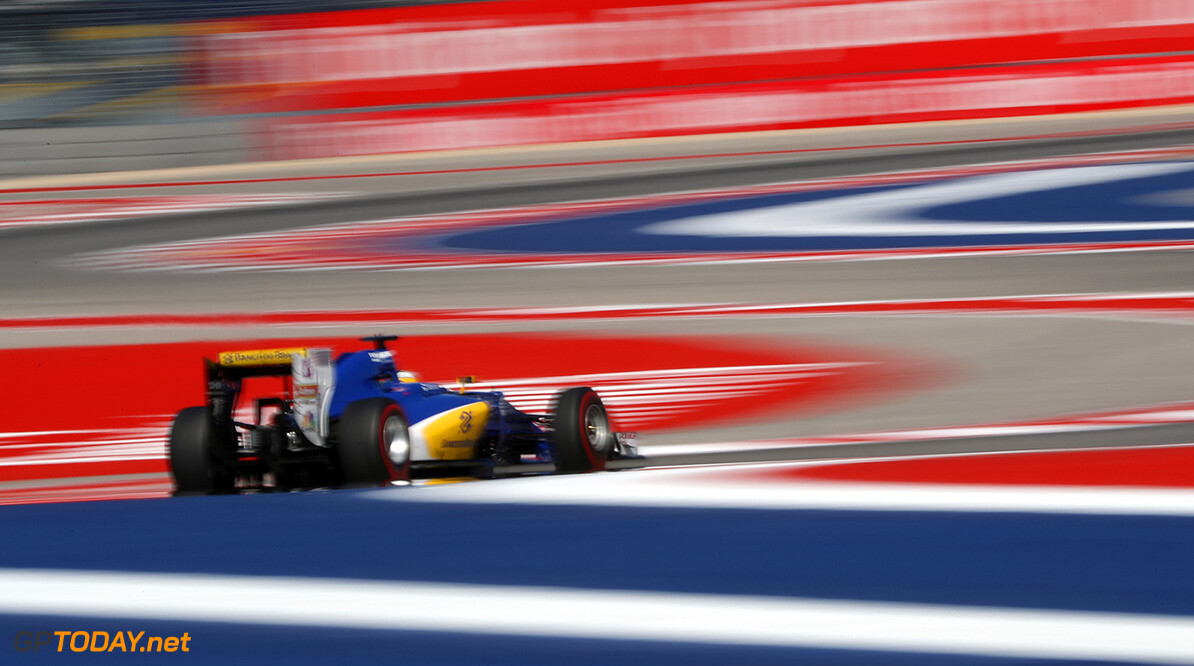 United States GP Friday 21/10/16 Marcus Ericsson (SWE), Sauber F1 Team.  Circuit of the Americas.  United States GP Friday 21/10/16 Jad Sherif                       Austin USA  F1 Formula 1 One 2016 American Action Ericsson Sauber