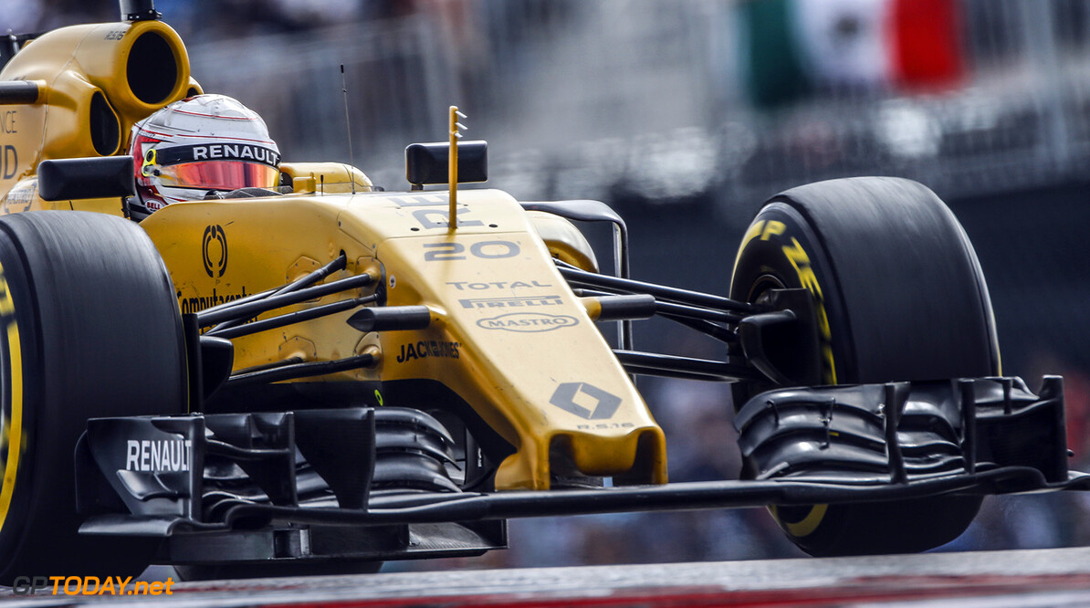 20 MAGNUSSEN Kevin (dnk) Renault RS.16 action during the 2016 Formula One World Championship, United States of America Grand Prix from october 21 to 23 in Austin, Texas, USA - Photo Francois Flamand / DPPI F1 - USA GRAND PRIX 2016 Francois Flamand Austin United States of America  Ameriques Auto Car Etats Unis D'amerique F1 Formula 1 Formula One Formule 1 Formule Un Grand Prix Monoplace Motorsport October Octobre Race States Uniplace United Usa World Championship