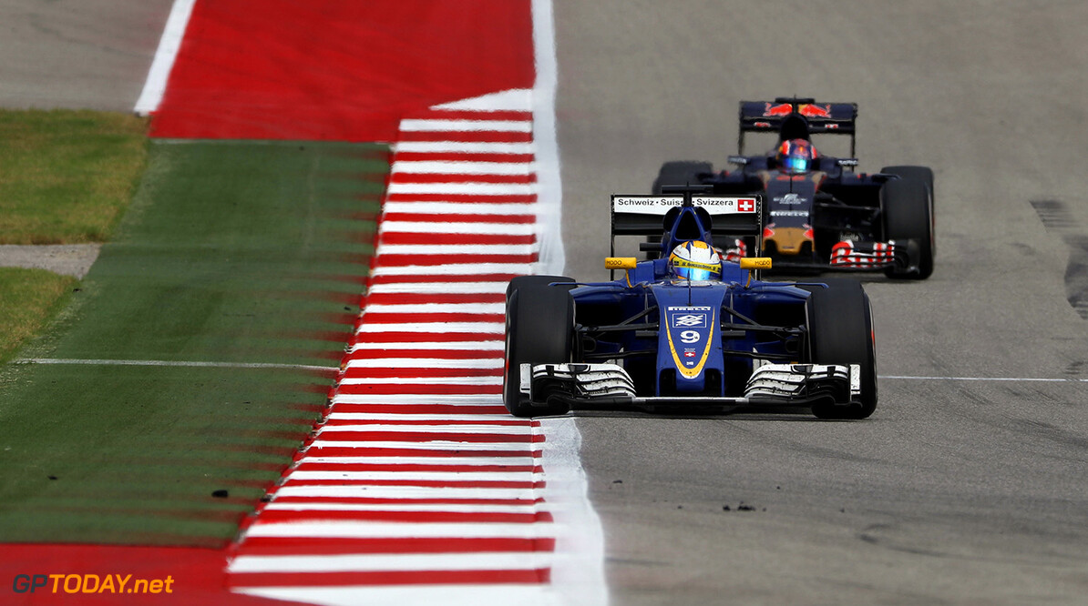 United States GP Race 23/10/16 Marcus Ericsson (SWE), Sauber F1 Team.  Circuit of the Americas.  United States GP Race 23/10/16 Jad Sherif                       Austin USA  F1 Formula 1 One 2016 American Action Ericsson Sauber