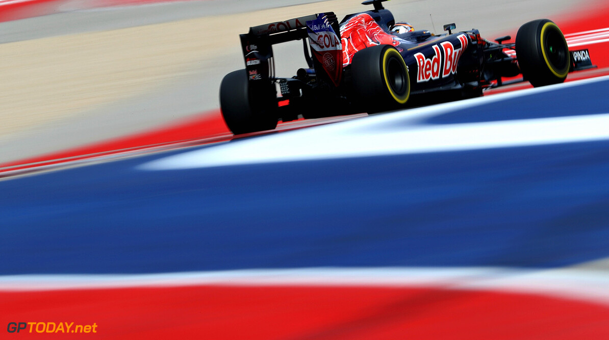 AUSTIN, TX - OCTOBER 23: Carlos Sainz of Spain driving the (55) Scuderia Toro Rosso STR11 Ferrari 060/5 turbo on track during the United States Formula One Grand Prix at Circuit of The Americas on October 23, 2016 in Austin, United States.  (Photo by Mark Thompson/Getty Images) // Getty Images / Red Bull Content Pool  // P-20161024-00217 // Usage for editorial use only // Please go to www.redbullcontentpool.com for further information. //  F1 Grand Prix of USA Mark Thompson    P-20161024-00217
