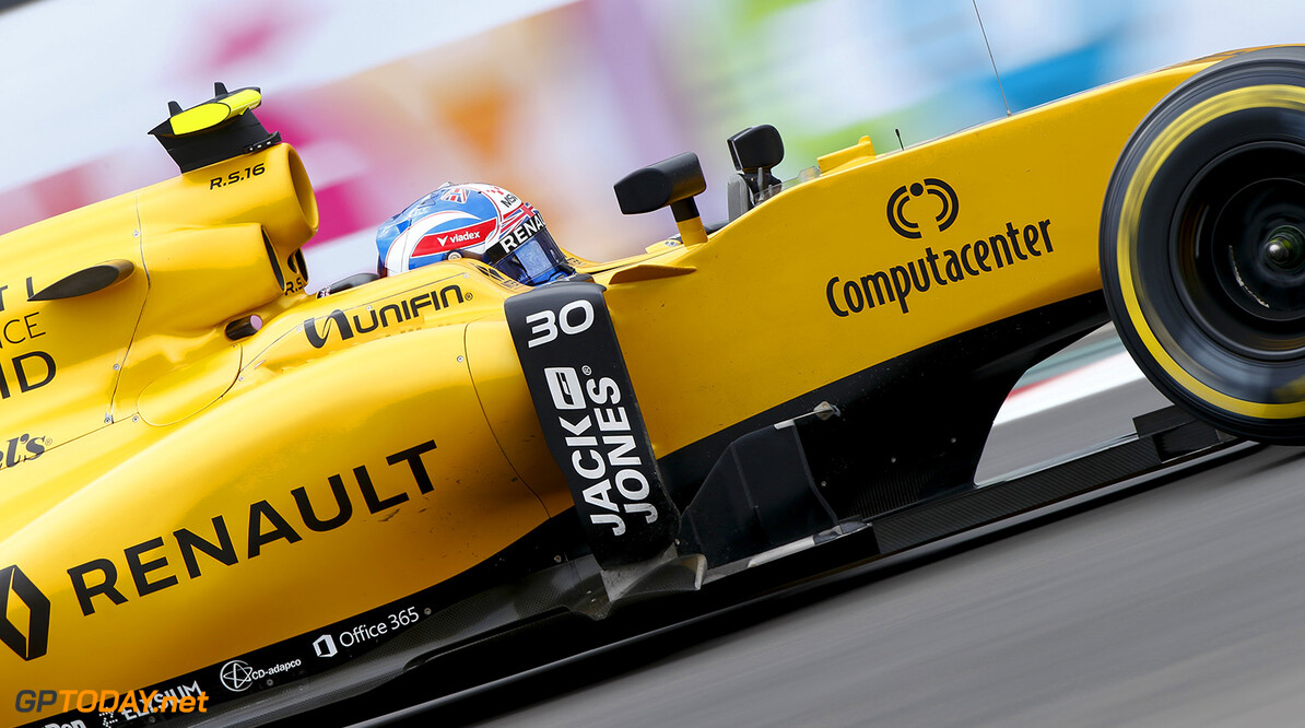 Jolyon Palmer pleased with 14th in Mexico
