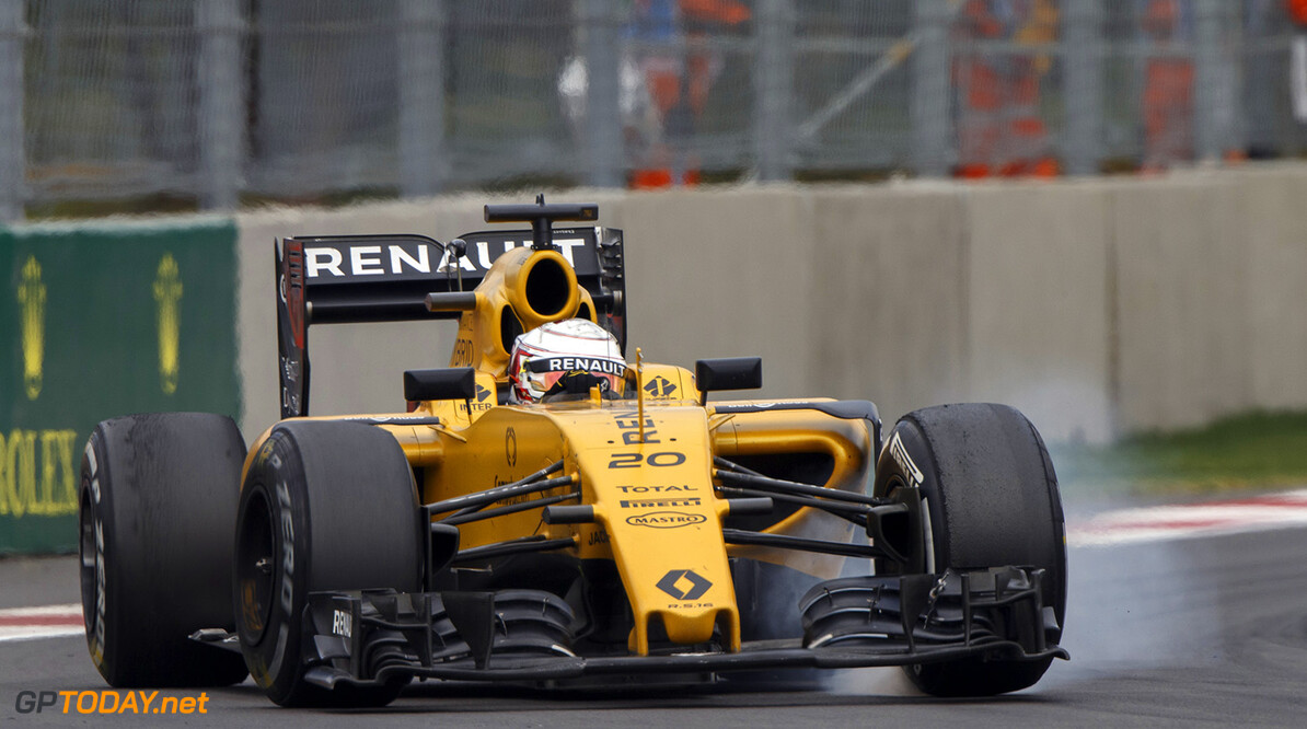 20 MAGNUSSEN Kevin (dnk) Renault action   during the 2016 Formula One World Championship, Mexico Grand Prix from october 27 to 30 in Mexico - Photo Frederic Le Floc'h / DPPI F1 - MEXICO GRAND PRIX 2016 Frederic Le Floc'h Mexico Mexico  Ameriques Auto Autodromo Hermanos Rodriguez Car F1 Formula 1 Formula One Formule 1 Formule Un Grand Prix Mexico Mexique Monoplace Motorsport November Novembre October Octobre Race Uniplace World Championship mex