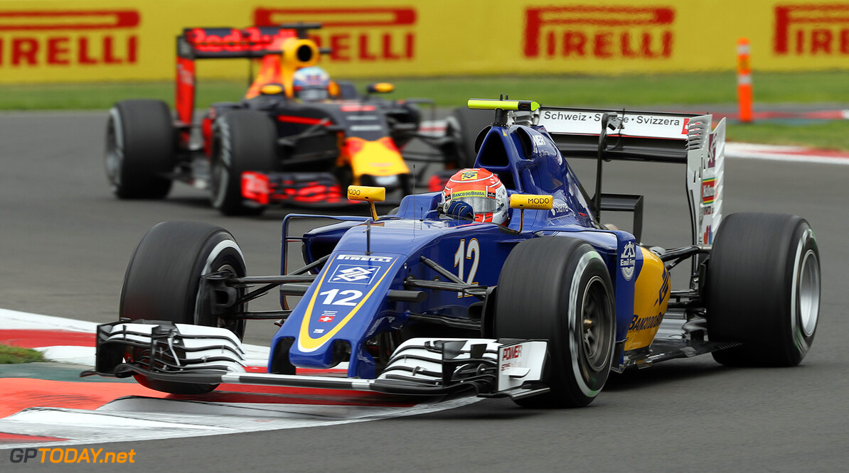 Mexican GP Friday 28/10/16 Felipe Nasr (BRA) Sauber F1 Team.  Autodromo Hermanos Rodriguez.  Mexican GP Friday 28/10/16 Jad Sherif                       Mexico City Mexico  F1 Formula 1 One 2016 action Nasr Sauber