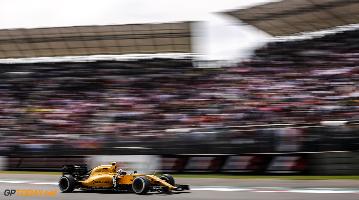 30 PALMER Jolyon (gbr) Renault RS.16 action during the 2016 Formula One World Championship, Mexico Grand Prix from october 27 to 30 in Mexico - Photo Francois Flamand / DPPI F1 - MEXICO GRAND PRIX 2016 Francois Flamand Mexico Mexico  Ameriques Auto Car Mexique mex Mexico F1 Formula 1 Formula One Formule 1 Formule Un Grand Prix Monoplace Motorsport October Octobre Novembre November Race Uniplace World Championship Autodromo Hermanos Rodriguez