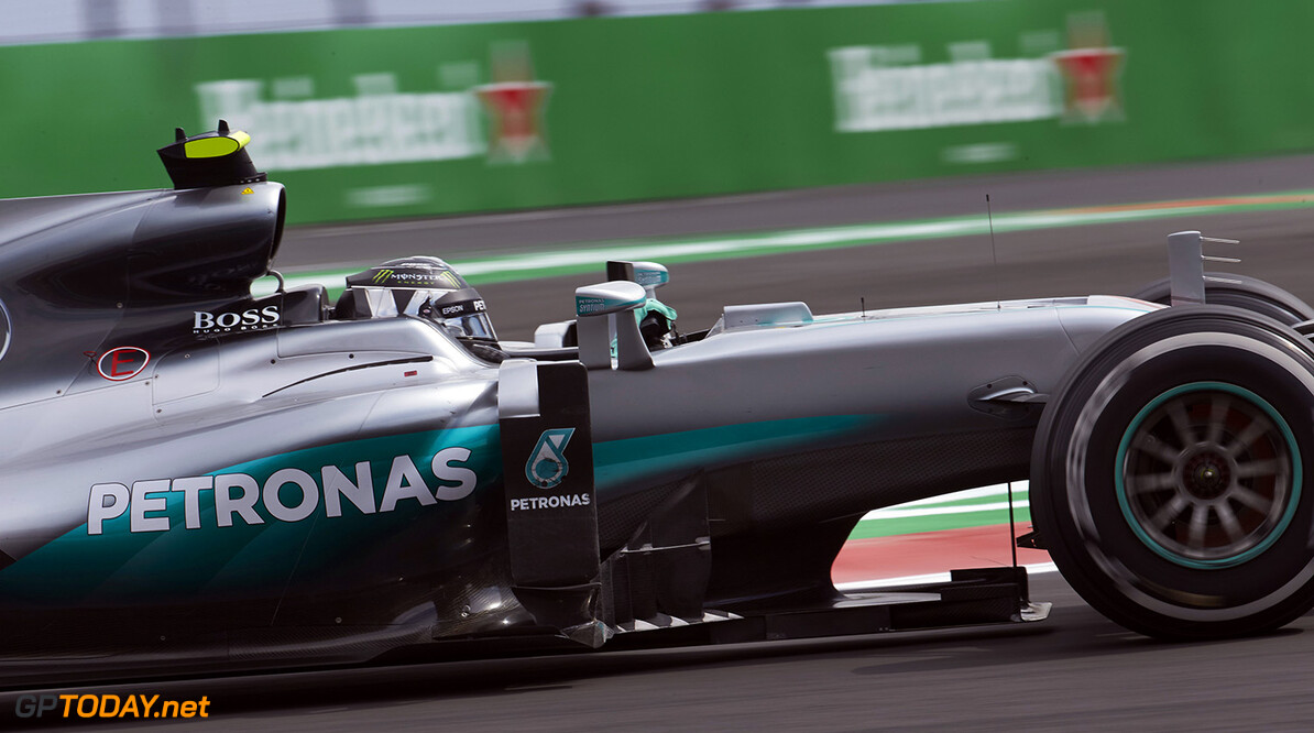 "Nico Rosberg: ""It was a pretty normal Friday"""