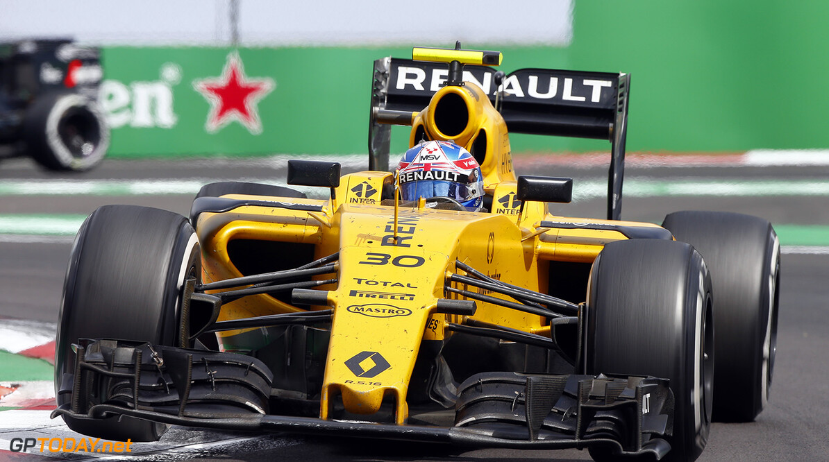 30 PALMER Jolyon (gbr) Renault action   during the 2016 Formula One World Championship, Mexico Grand Prix from october 27 to 30 in Mexico - Photo Frederic Le Floc'h / DPPI F1 - MEXICO GRAND PRIX 2016 Frederic Le Floc'h Mexico Mexico  Ameriques Auto Autodromo Hermanos Rodriguez Car F1 Formula 1 Formula One Formule 1 Formule Un Grand Prix Mexico Mexique Monoplace Motorsport November Novembre October Octobre Race Uniplace World Championship mex